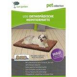 Sun Garden Lou Orthopedisch Hondenkussen 80x55x5cm Grijs_