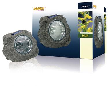 Ranex RA-5000154 Solar Tuinlamp 3 Led