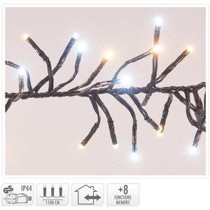 Clusterverlichting - 1512 LED - 2-kleuren: wit + warm wit